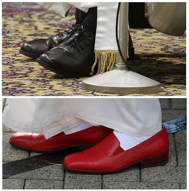 scarpe papa